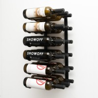 Vintage View WS23 - 18 Bottle Wine Rack - Satin-Black Showcase
