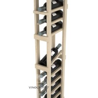 Professional Series - 6 Foot - 1 Column Display Rack - Pine Detail
