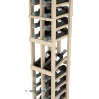 Professional Series - 6 Foot - 2 Column Display Rack - Pine Detail