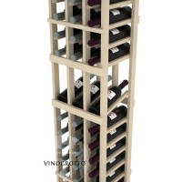 Professional Series - 6 Foot - 3 Column Display Rack - Pine Detail