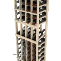 Professional Series - 6 Foot - 4 Column Display Rack - Pine Detail