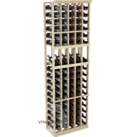 Professional Series - 6 Foot - 5 Column Display Rack - Pine Showcase