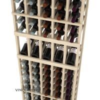 Professional Series - 6 Foot - 5 Column Display Rack - Pine Detail