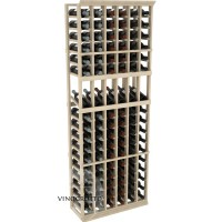 Professional Series - 6 Foot - 6 Column Display Rack - Pine Showcase