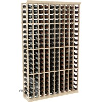 Professional Series - 6 Foot - 10 Column Cellar Rack - Pine Showcase