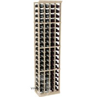 Professional Series - 6 Foot - 4 Column Cellar Rack - Pine Showcase