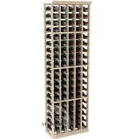 Professional Series - 6 Foot - 5 Column Cellar Rack - Pine Showcase