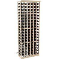 Professional Series - 6 Foot - 6 Column Cellar Rack - Pine Showcase
