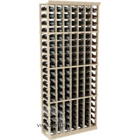 Professional Series - 6 Foot - 7 Column Cellar Rack - Pine Showcase