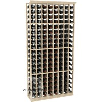 Professional Series - 6 Foot - 8 Column Cellar Rack - Pine Showcase