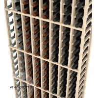 Professional Series - 6 Foot - 8 Column Cellar Rack - Pine
