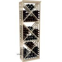 Professional Series - 6 Foot - Lattice X-Cube Storage Rack - Pine Showcase