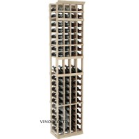 Professional Series - 7 Foot - 4 Column Display Rack - Pine Showcase