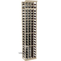 Professional Series - 7 Foot - 4 Column Cellar Rack - Pine Showcase