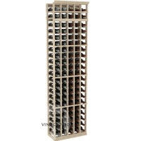 Professional Series - 7 Foot - 5 Column Cellar Rack - Pine Showcase