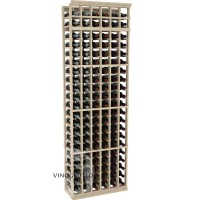 Professional Series - 7 Foot - 6 Column Cellar Rack - Pine Showcase