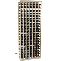 Professional Series - 7 Foot - 7 Column Cellar Rack - Pine Showcase