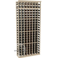Professional Series - 7 Foot - 8 Column Cellar Rack - Pine Showcase