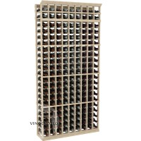 Professional Series - 7 Foot - 9 Column Cellar Rack - Pine Showcase