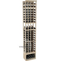 Professional Series - 8 Foot - 4 Column Display Rack - Pine Showcase