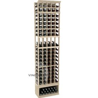 Professional Series - 8 Foot - 5 Column Display Rack - Pine Showcase