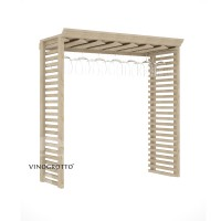 Professional Series - Hanging Stemware Rack - Pine Solo