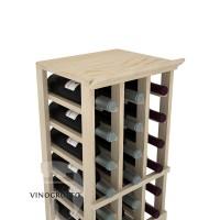 Professional Series - 3 Column Top Shelf - Pine