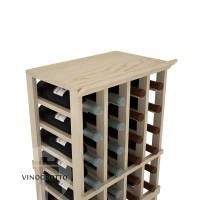 Professional Series - 4 Column Top Shelf - Pine