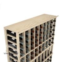 Professional Series - 9 Column Top Shelf - Pine
