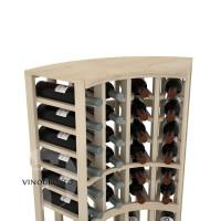 Professional Series - Curved Corner Top Shelf - Pine