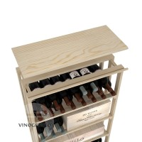 Professional Series - Rec Bin Top Shelf - Pine Showcase
