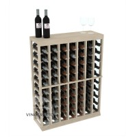 Professional Series - Half Height - Standard Tasting Table Rack - Pine Showcase