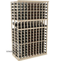 Professional Series - 6 Foot - Double Deep - 10 Column Display Rack - Pine Showcase
