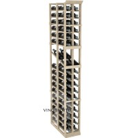 Professional Series - 6 Foot - Double Deep - 2 Column Display Rack - Pine Showcase