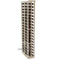 Professional Series - 6 Foot - Double Deep - 2 Column Cellar Rack - Pine Showcase