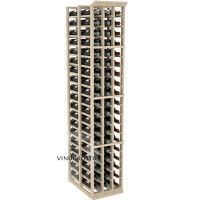 Professional Series - 6 Foot - Double Deep - 3 Column Cellar Rack - Pine Showcase