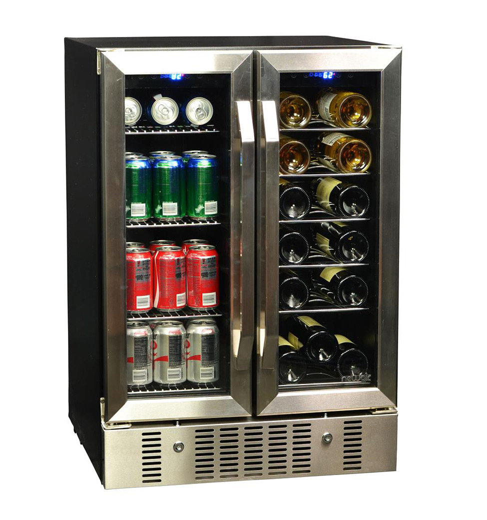 NewAir AWB-360DB Dual Zone Wine and Beverage Cooler