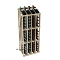 Retail Value Series - 52 Bottle Half Aisle Commercial Display - Pine Showcase