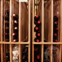 Retail Value Series - Stacked Bottle Columns - Redwood