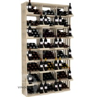 Retail Value Series - 312 Bottle Retail Wall Display - Pine Showcase