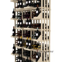 Retail Value Series - 312 Bottle Retail Wall Display - Pine