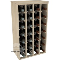 28 Bottle Magnum Premium Table Wine Rack - Pine Showase