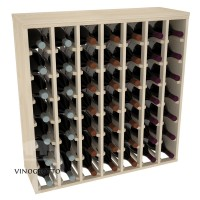 49 Bottle Magnum Premium Table Wine Rack - Pine Showase