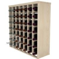 49 Bottle Magnum Premium Table Wine Rack - Pine