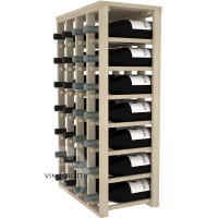 28 Bottle Magnum Table Wine Rack - Pine
