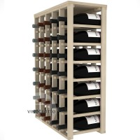 35 Bottle Magnum Table Wine Rack - Pine