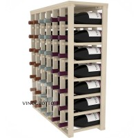 42 Bottle Magnum Table Wine Rack - Pine