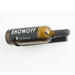 VintageView Vino Styx - Single Bottle - Satin-Black Showcase