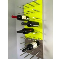 STACT Wine Rack - Citrus Green