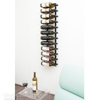 Vintage View WS42 - 24 Bottle Wine Rack - Satin-Black